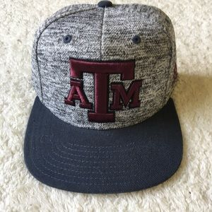 Texas A&M Aggies SnapBack Structured Hat New